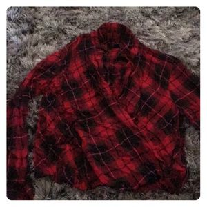 red flannel t shirt